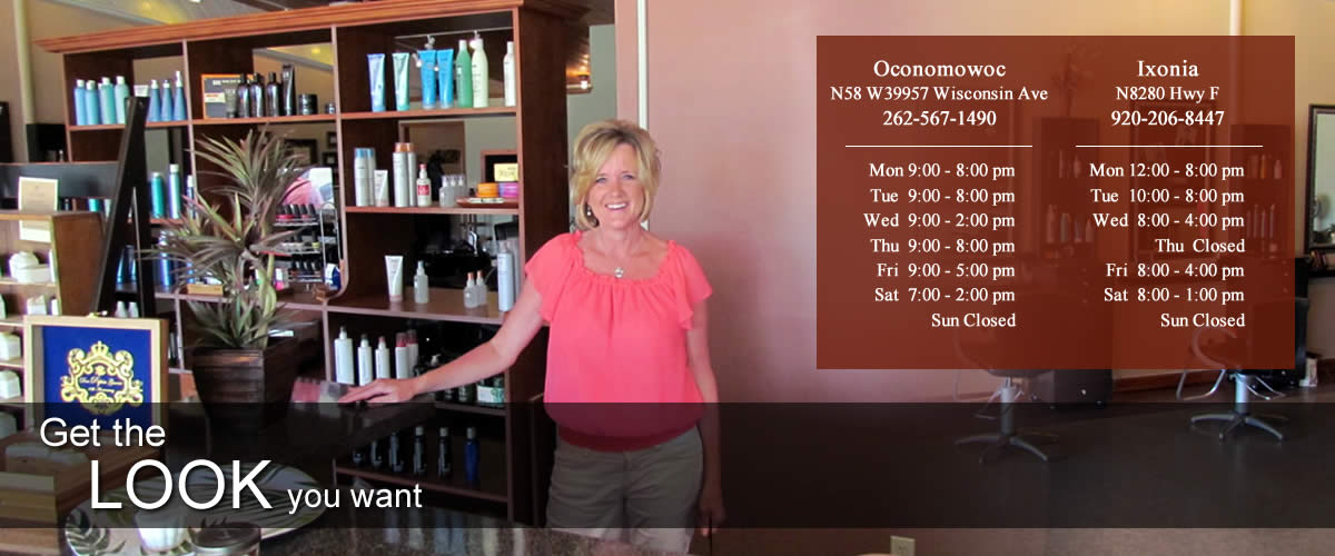Hair Salon Oconomowoc | Hair Salon and Tanning Oconomowoc | Hair Salon Ixonia Wisconsin